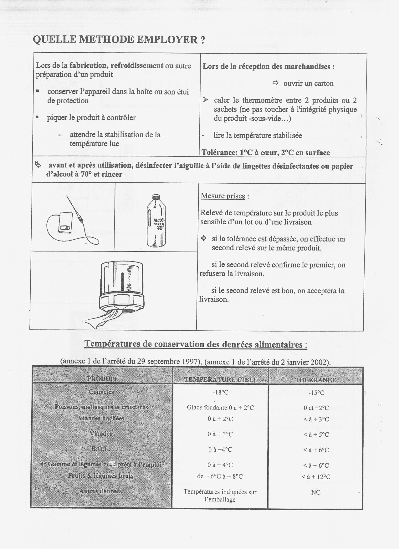 les procédures en hygiène et sécurité en restauration en haccp ... - Procedure Haccp Cuisine