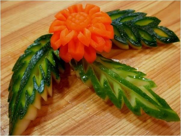 D coration cuisine legume - Decoration de legume et fruit ...