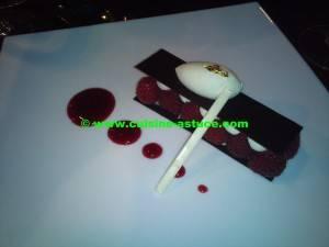 Dégustation à la Tour Eiffel : Dessert
