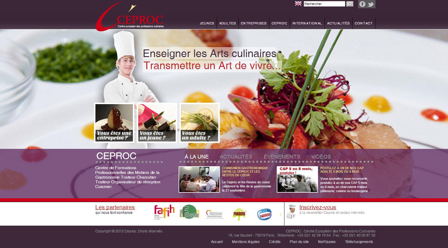 Recettes de cuisine et astuces d 39 un vrai cuisinier - Brevet professionnel cuisine ...