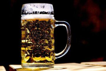 Tarte à la bière et aux légumes nouveaux