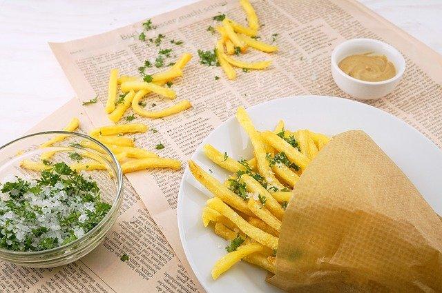 Pour manger de bonne frites