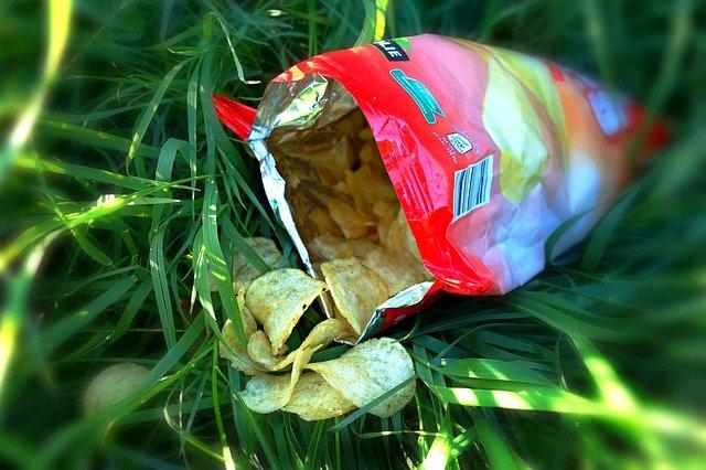 des chips croustillantes