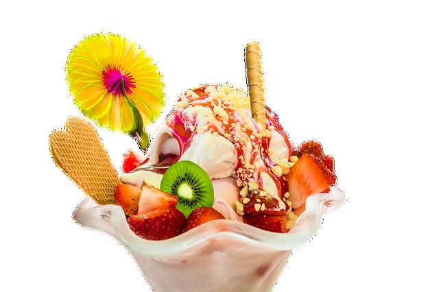 Coupe de glaces