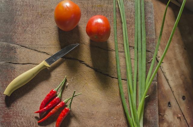 Les outils de cuisine