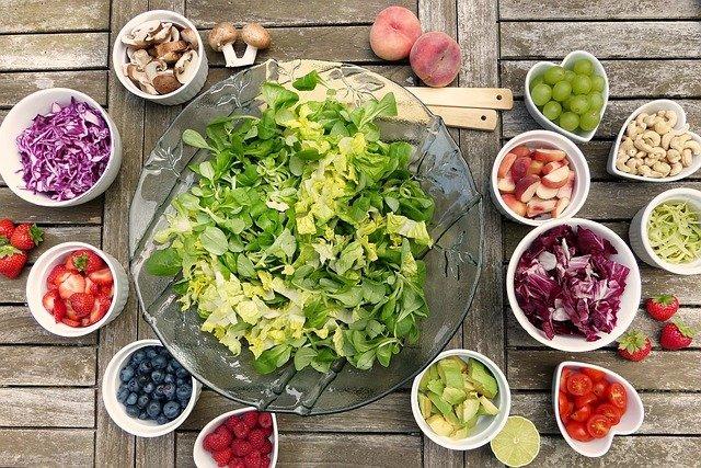 Action des fruits et légumes sur le corps humain